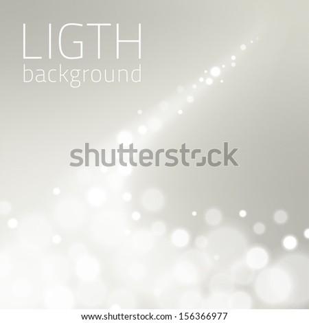 Light Background  - stock vector
