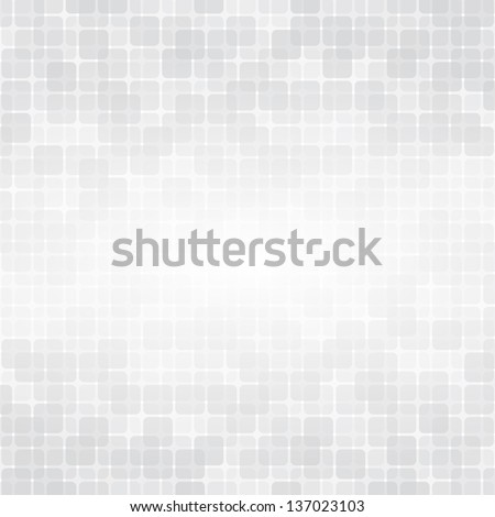 Light background with soft gray squares. For web or prints. - stock vector