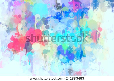 Light blue colorful background - stock vector