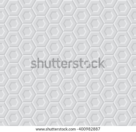 light 3d geometric pattern  - stock vector