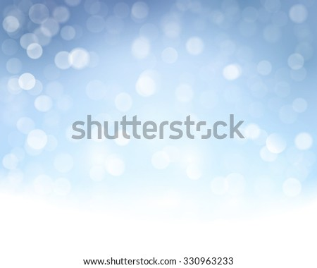 Light effects and sparkling out of focus lights for a magical abstract backdrop for the festive Christmas, holiday season to come. - stock vector
