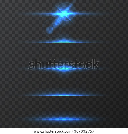 light effects, realistic lighting effect , light glow effect , vector glow luminescence for design, illustration of a set of light and glow effect,  Glowing stars,  Lights and Sparkles  effect,  - stock vector