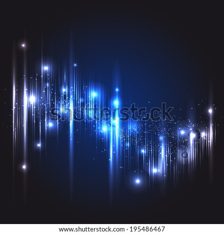 light Equalizer - stock vector