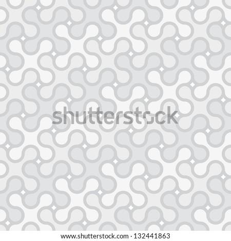 light gray simple seamless pattern - stock vector