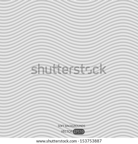 Light gray soft background. - stock vector