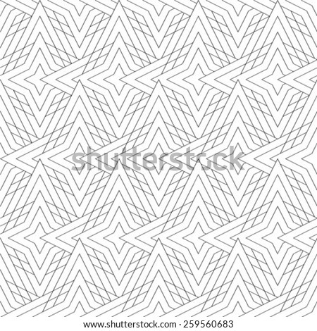 Light grey geometric background - stock vector