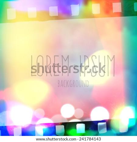 Bokeh Background Video Bokeh Sky Background Film