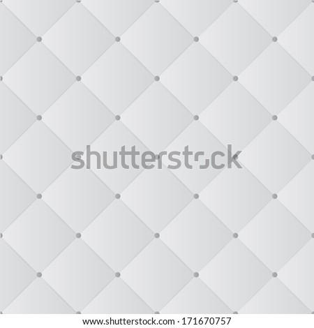 Light leather sofa cushion background - stock vector