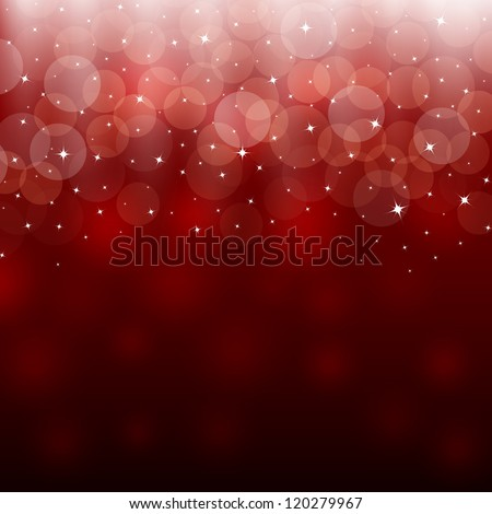 Light red holiday abstract background - stock vector