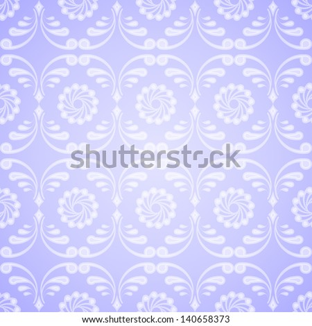 Light seamless patterned background. Vector illustration - stock vector