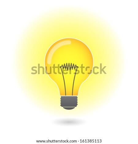 Lightbulb  - stock vector