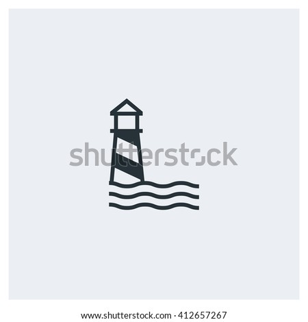 Lighthouse Icon, Lighthouse Icon Eps10, Lighthouse Icon Vector, Lighthouse Icon Eps, Lighthouse Icon Jpg, Lighthouse Icon Picture, Lighthouse Icon Flat, Lighthouse Icon App, Lighthouse Icon Web - stock vector