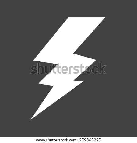 Lightning, electric, thunder icon vector image. Can also be used for energy and technology. Suitable for web apps, mobile apps and print media. - stock vector