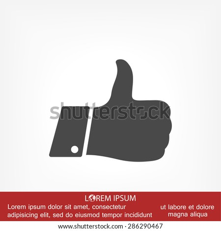 like icon. Vector  Eps 10  - stock vector