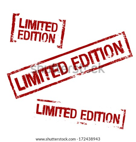 Limited Edition Vector Stamp - stock vector