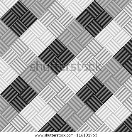 line art geometric pattern & texture & background - stock vector