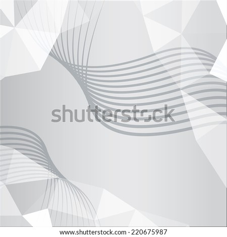 Lines pattern background. Abstract wallpaper with stripes or curves. Modern design background with geometric triangle elements. Vector - stock vector
