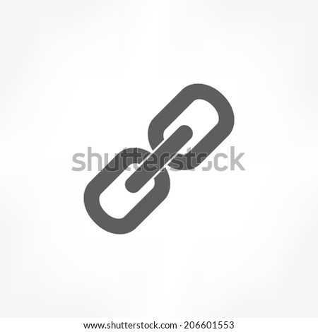 link icon - stock vector