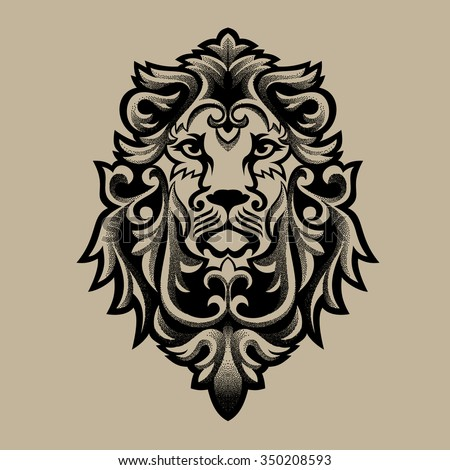 Lion Head Stock Photos Images Amp Pictures Shutterstock