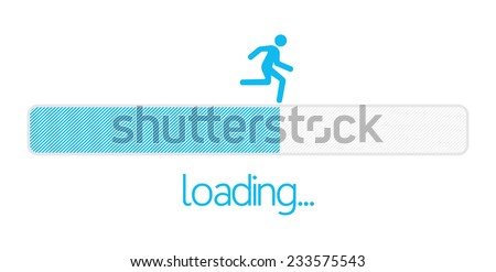 Loading bar - stock vector