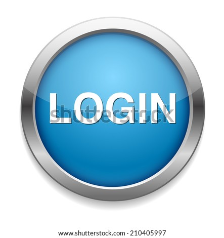 Login Buttons Login Icon or Button Login
