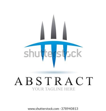 Logo Abstract Icon Element Template Design Logos - stock vector