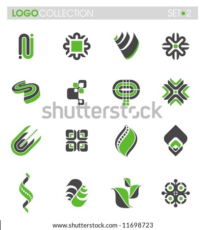 Logo collection - set #2 - stock vector