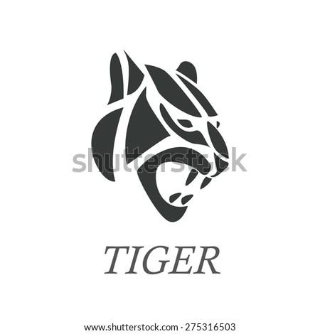 Tiger Logo Stock Vectors & Vector Clip Art | Shutterstock