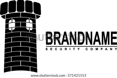 Logotype for security company - stock vector