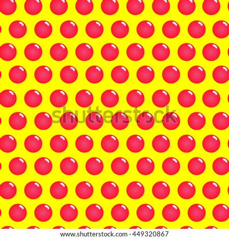 Lollipop seamless pattern. Candy on a stick. Cute ornament for kids fabrics. Vector illustration - stock vector