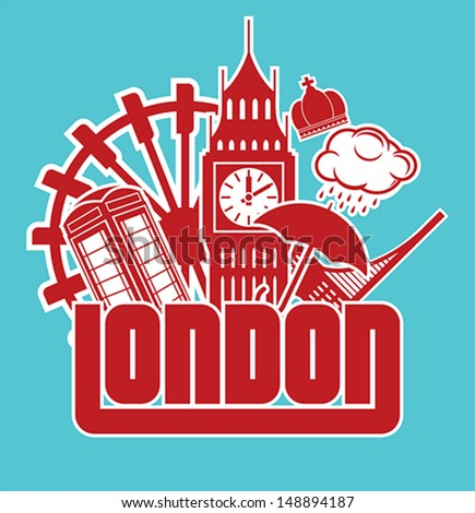 London - stock vector
