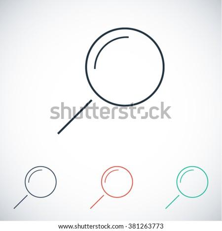 Loupe   icon, loupe   vector icon, loupe   icon illustration, loupe   icon eps, loupe   icon jpeg, loupe   icon picture, loupe   flat icon, loupe   icon design, loupe   icon web, loupe   icon art - stock vector