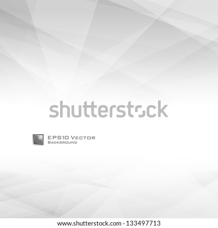 Lowpoly Background with copy-space. EPS 10 vector illustration. Used opacity mask of background - stock vector