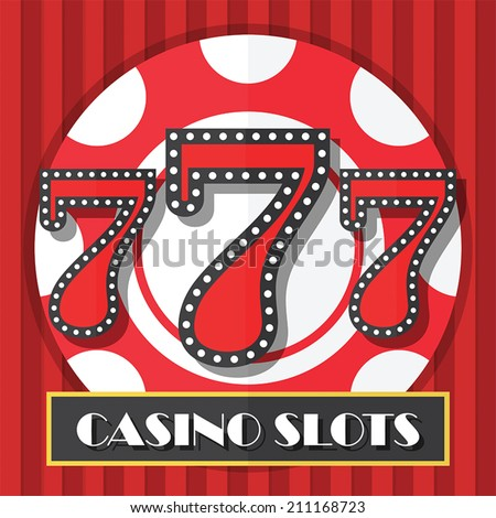 lucky 7 slots logo color