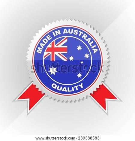 Australian Made Vector Made in Australia Australian