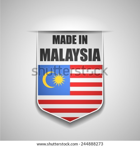 Made in Malaysia - stock vector