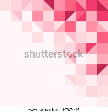 Magenta tinted background - stock vector