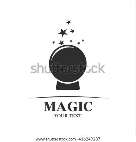 Magic  ball - stock vector