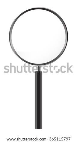 Magnifier Concept, Vector Illustration EPS 10. - stock vector