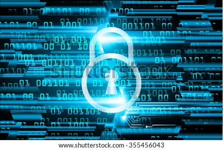 Magnifying Glass scanning and identifying a computer virus. Antivirus protection and computer security concept. PC. vector one zero. scan. technology digital website internet web. scan virus map key - stock vector