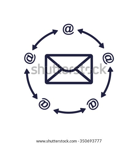 Mail Icon, Mail Icon Vector, Mail Icon JPG, Mail Icon JPEG, Mail Icon EPS, Mail Icon design - stock vector