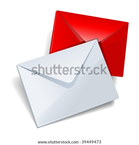 Mail icon.Vector.JPG version in my portfolio. - stock vector