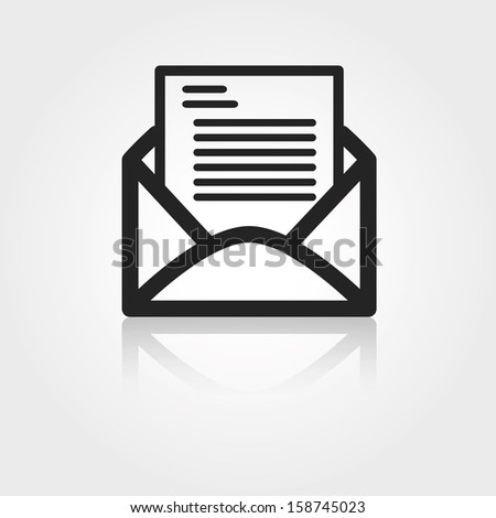 Mail letter - stock vector