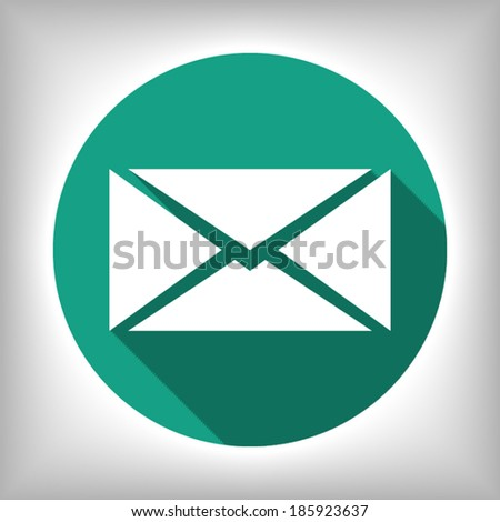 mail - Vector i���±on - stock vector