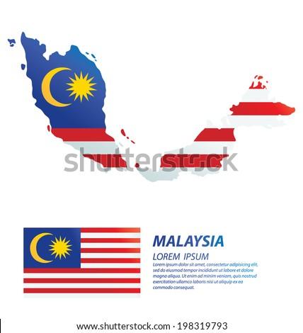 Malaysia. flag vector Illustration. - stock vector