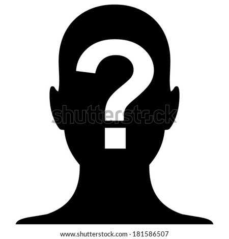 Unknown gender Stock P... Blank Profile Picture With Question Mark