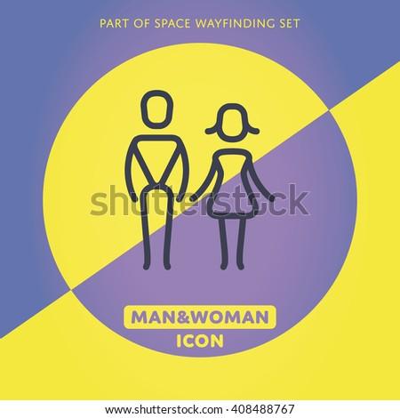 Man and woman icon. Man and woman icon. Man and woman icon. Man and woman icon. Man and woman icon. Man and woman icon. Man and woman icon. Man and woman icon. Man and woman icon. Man and woman icon. - stock vector