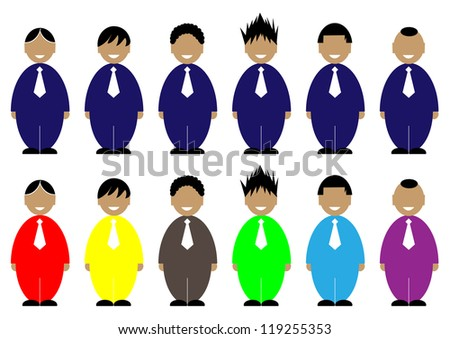 man icon,people icon,business icon,business man.vector. - stock vector
