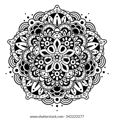 Mandala - stock vector