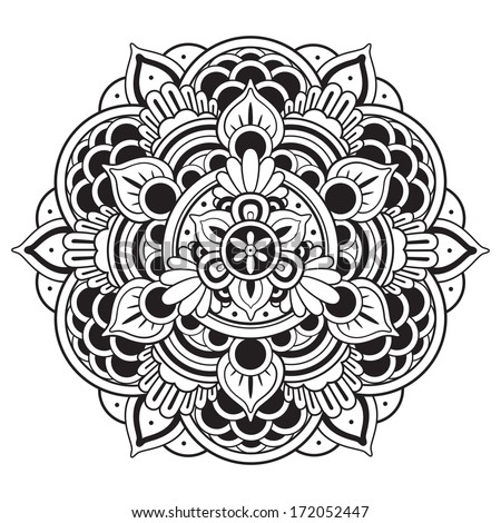 Mandala Ornament - stock vector